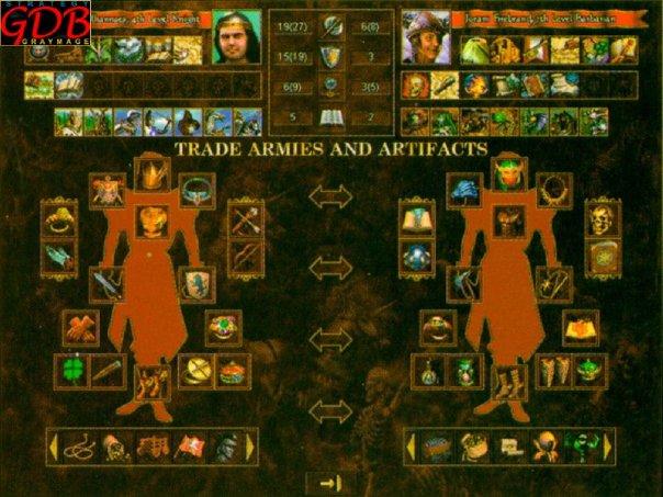 Герои Меча и Магии III: Возрождение Эрафии - Скрины из бета и альфа версий игры